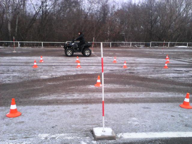 квадроцикл снегоход
