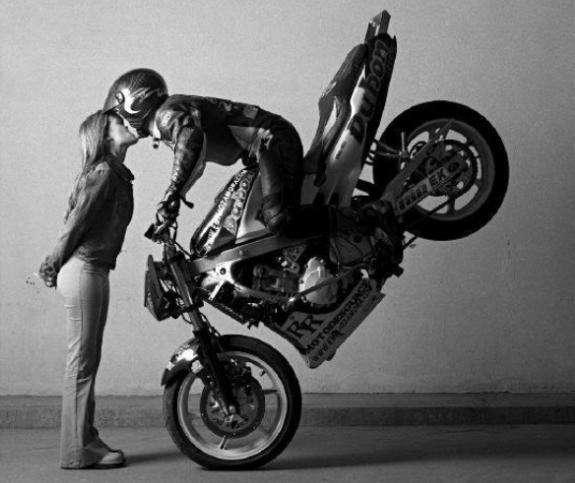 Обучение на права на мотоцикл
